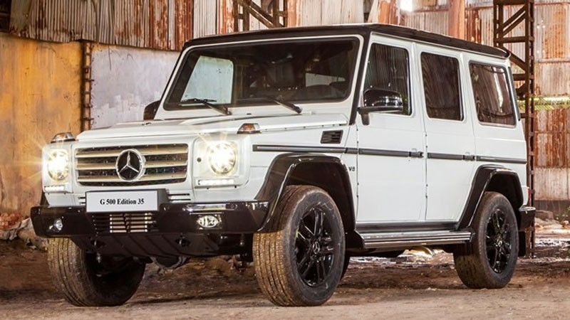 mercedes benz g500 edition 35