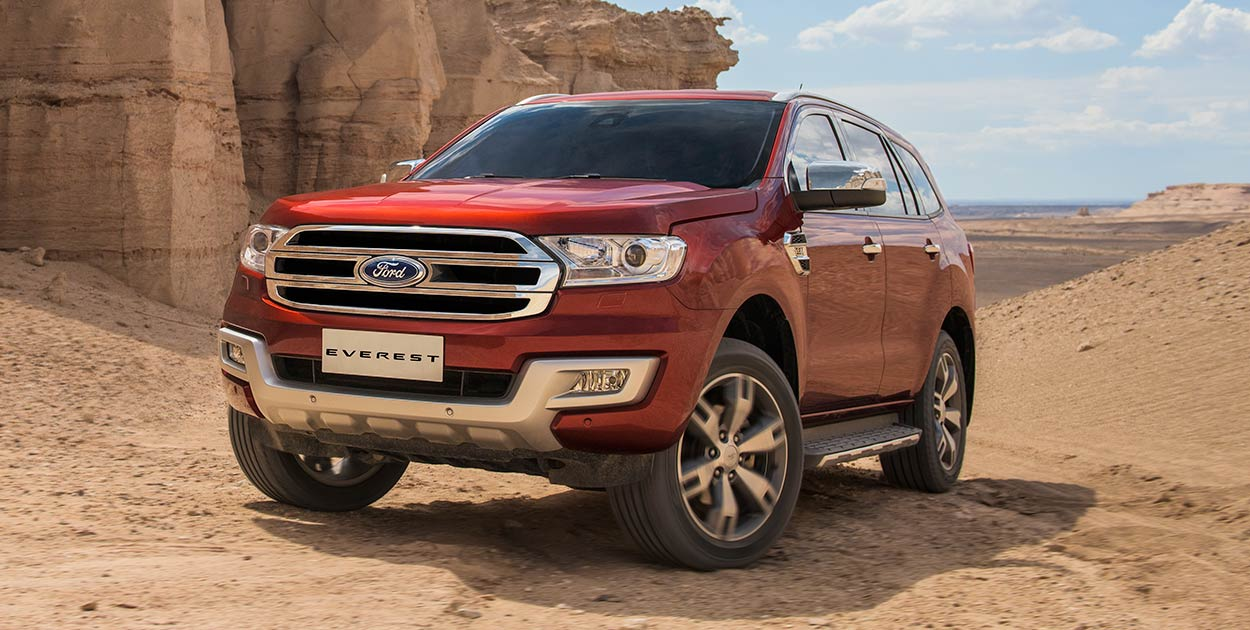 Ford Everest 2.2L Titanium 4x2 AT