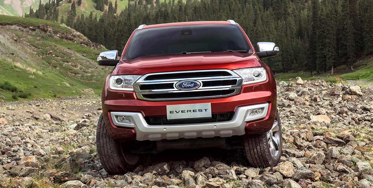 Ford Everest 3.2L Titanium+ 4x4 AT